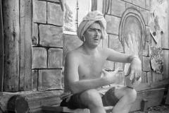 17А.Д. Тихомиров. Домашний спектакль. Троицкое. 1962