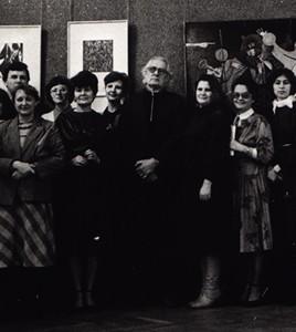 Первая выставка картин Александра Тихомирова. Орел. 1987